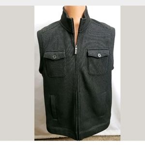 Tasso Elba mens zip up casual vest